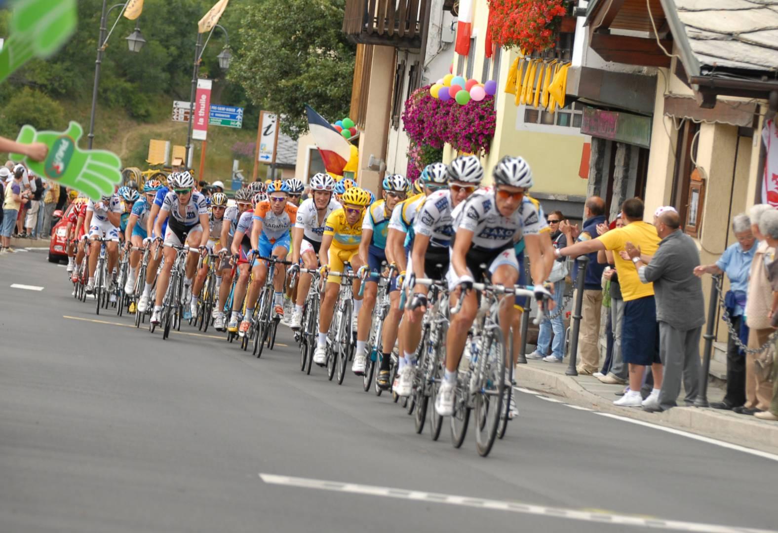 Viabilità modificata per il Giro d'Italia