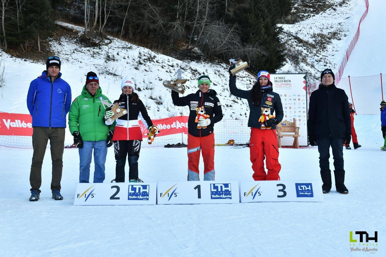 Telemark World Cup : il podio della seconda giornata di gare