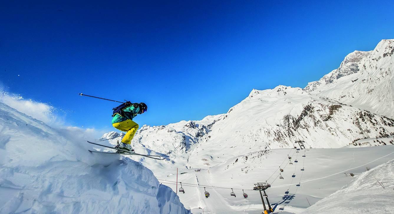 A La Thuile sci ed emozioni in un panorama bianchissimo