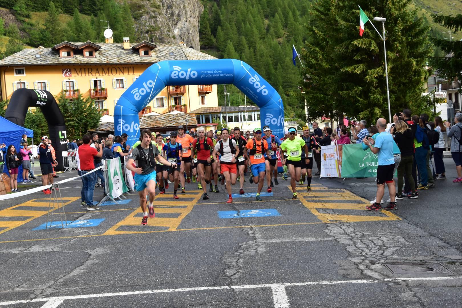 Grande successo per le prime due gare di La Thuile Trail